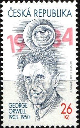 (2013) č. 760 ** - Česká republika - Osobnosti George Orwell