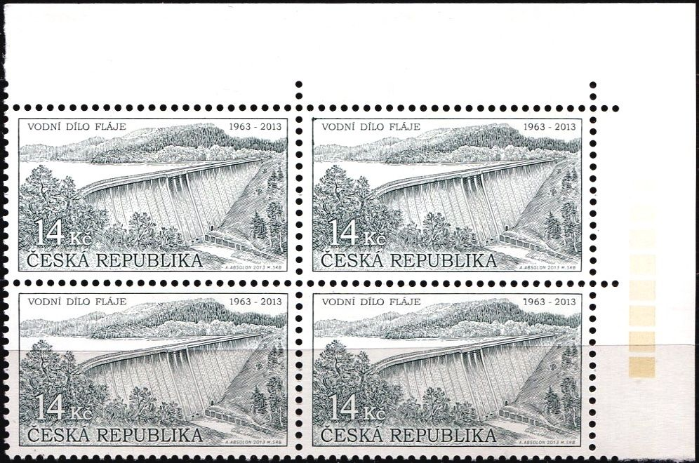(2013) č. 763 ** - Česká republika - Technické památky Vodní dílo Fláje