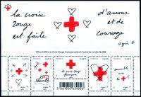 (2015) MiNr. 6309 - 6313 ** - Francie - BLOCK 315 - Červený kříž