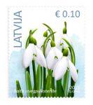 (2015) MiNr. 929 - 933 ** - Lotyšsko - Květiny