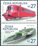 (2016) č. 876 - 877 ** - Česká republika - Historické dopravní prostředky