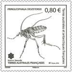 (2016) MiNr. 914 ** - Francouzská Antarktida - Bezkřídlý motýl