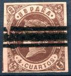 (1862) MiNr. 50 - O - Španělsko - Královna Isabella II.