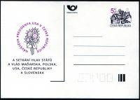(1994) CDV 4 ** -  Návštěva prezidenta USA v ČR