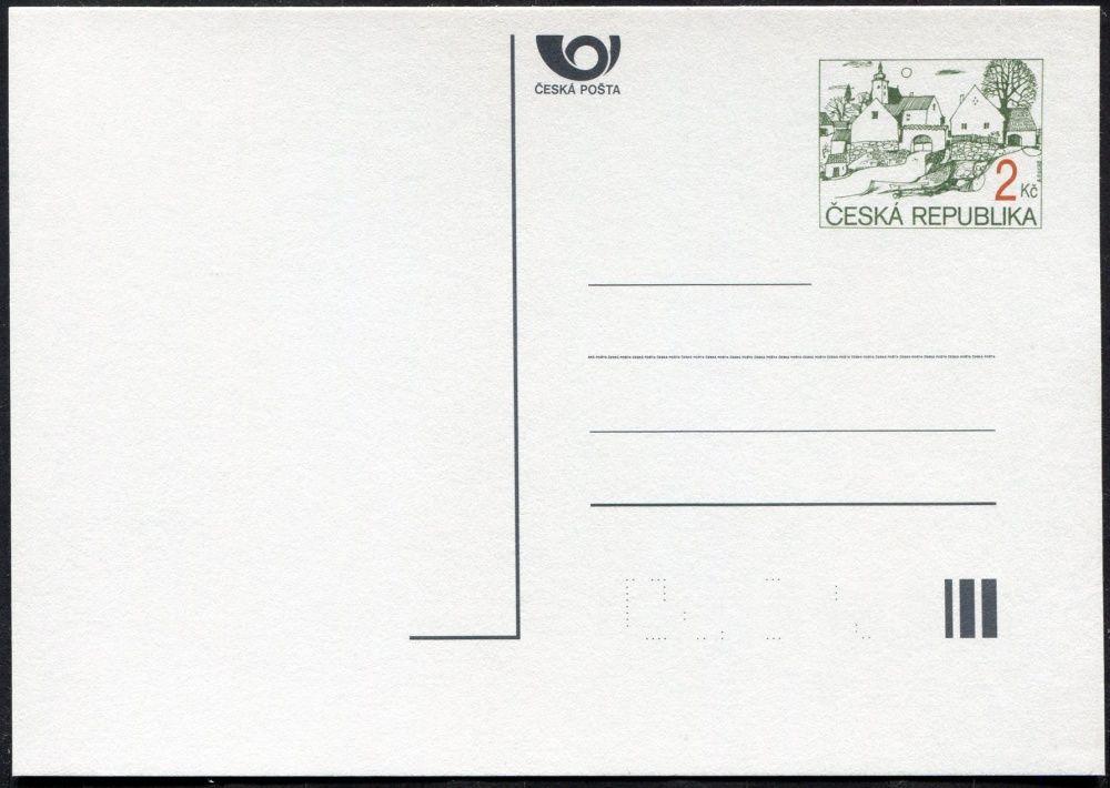 Česká pošta (1994) CDV 5 ** - Vesnický motiv
