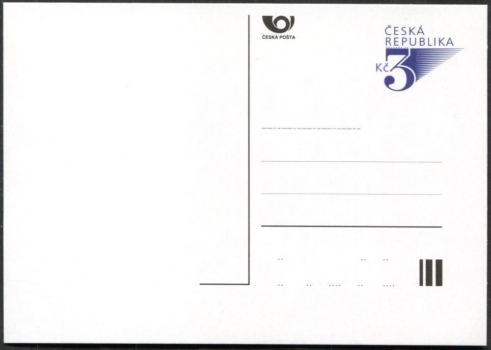 Česká pošta (1996) CDV 18 ** - Trojka