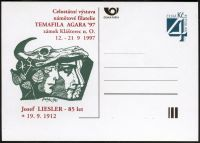 (1997) CDV 22 ** - P 26 - Celostátní výstava námětové filatelie Temafila AGARA 97
