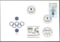 (1998) FDC 167 - ZOH Nagano 1998 s otiskem