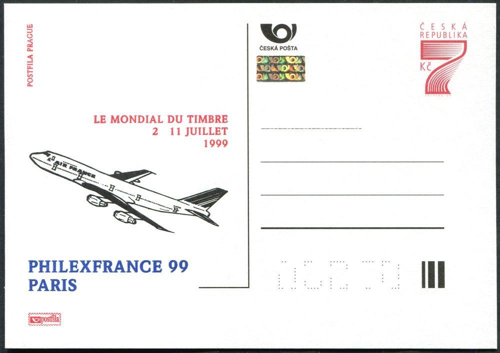 (1999) CDV 41 ** - P 46 - Philexfrance 99 - Paříž