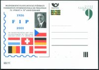 (2001) CDV 64 ** - P 74 - 75. výročí FIP