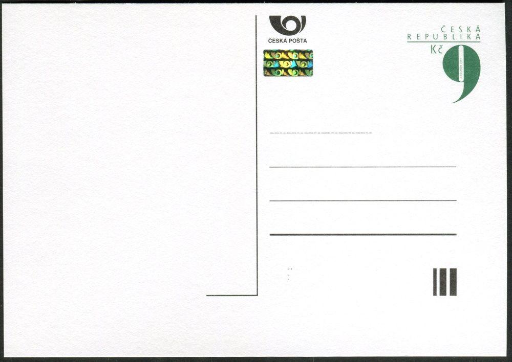Česká pošta (2001) CDV 64A ** - Devítka