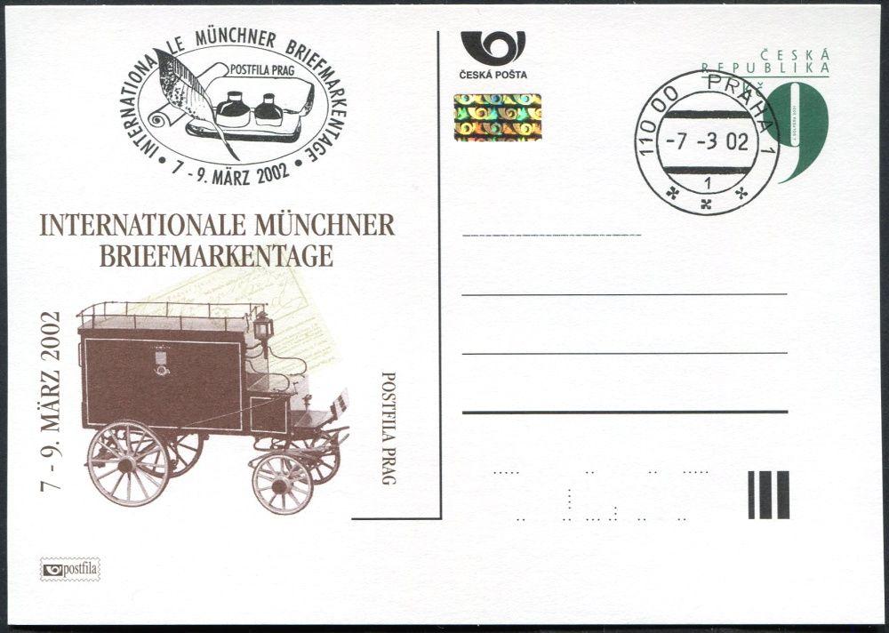 (2002) CDV 64 O - P 76 - Münchner 2002 - razítko