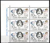 (2013) č. 754 ** - Česká republika - 6-bl - Tradice české známkové tvorby