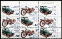 (2013) č. 768 - 769 ** - Česká republika - 9-bl - Historické dopravní prostředky