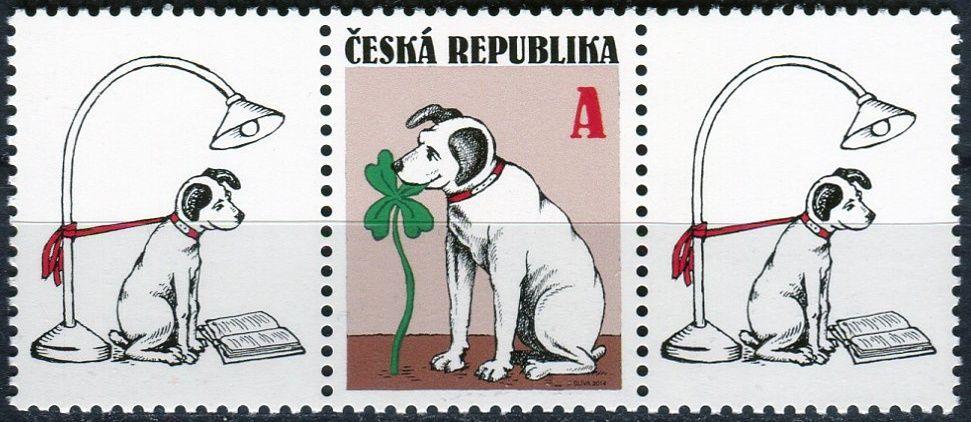 """(2014) č. 796 ** - ČR - Pro štěstí """"A"""" K1 + zn + K1"""