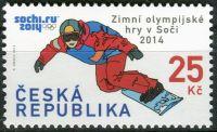 (2014) č. 797 ** - Česká republika - XXII. zimní OH v Soči