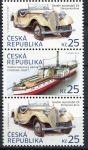 (2014) č. 810 - 811 ** - Česká republika - 3-bl - Historické dopravní prostředky
