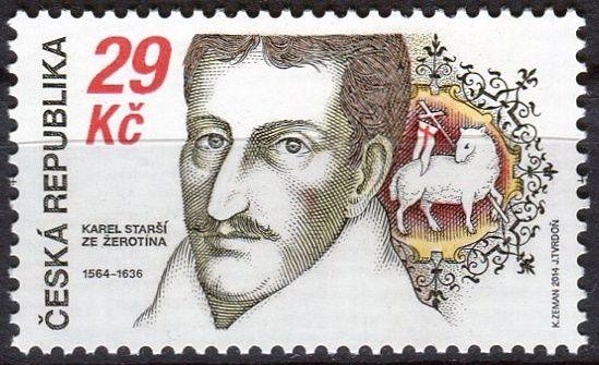 (2014) č. 818 ** - Česká republika - Karel starší za Žerotína