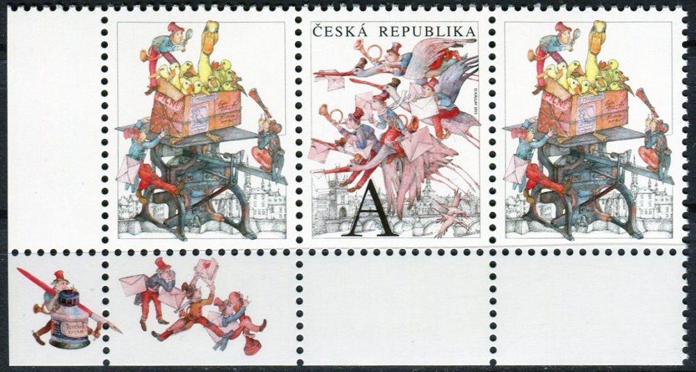 Česká pošta (2015) č. 841 ** - Česká republika - Pošta na křídlech