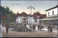 Lázně Luhačovice - minerální lázně a hudební pavilon