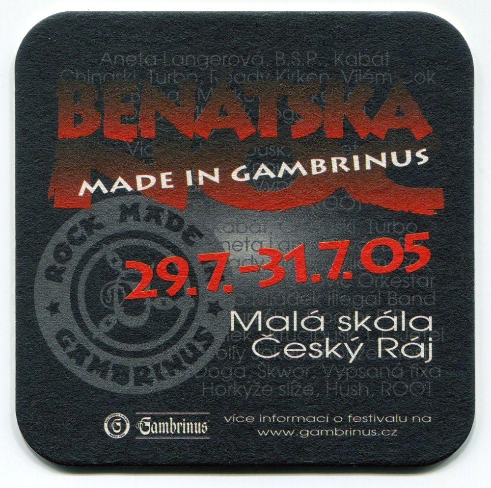 Plzeň - Gambrinus - Chuť rozjet to s přáteli - Benátská