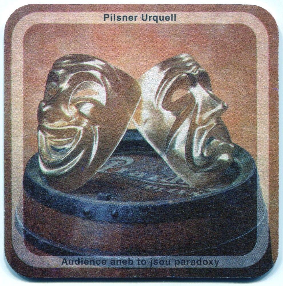 Plzeň - Pilsner Urquell - Audience aneb to jsou paradoxy