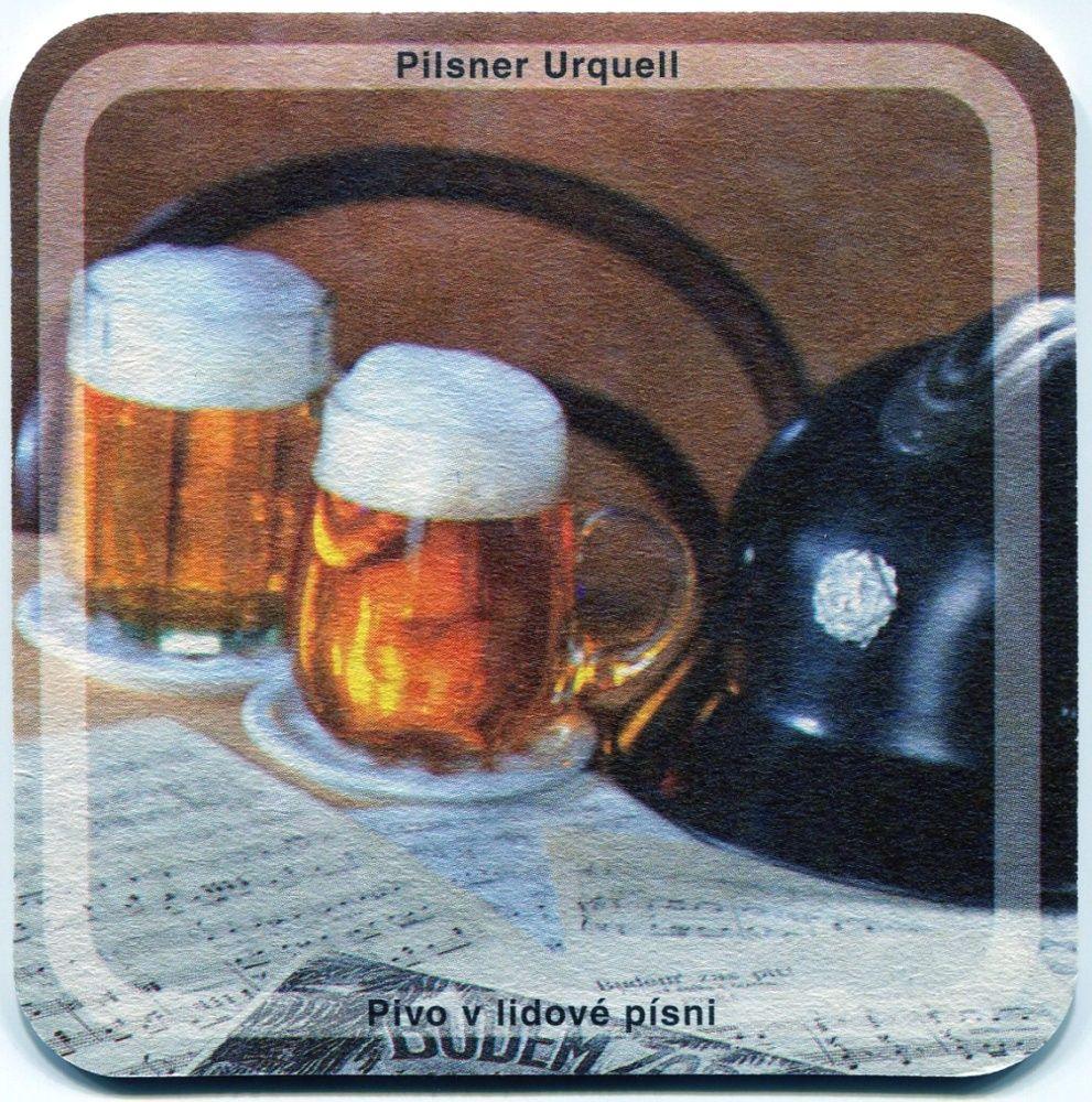 Plzeň - Pilsner Urquell - Pivo v lidové písni