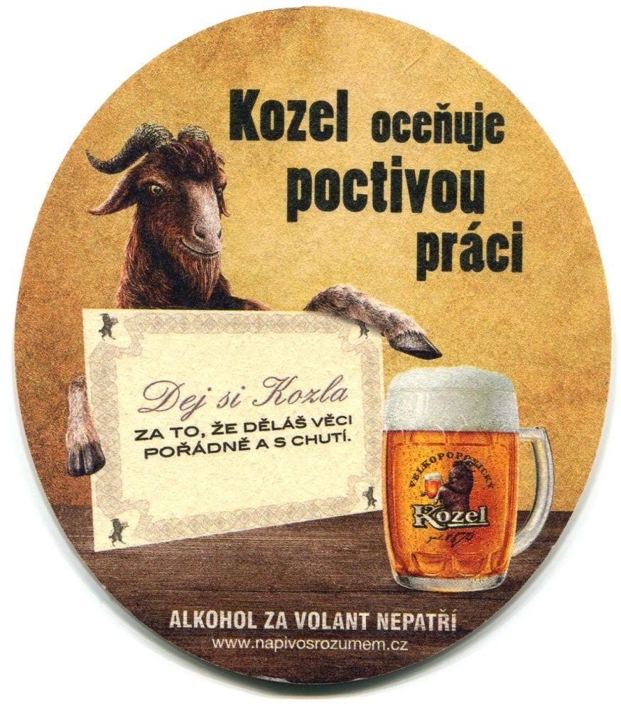 Velké Popovice - Velkopopovický kozel - Kozel oceňuje poctivou práci