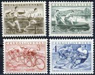 (1952) č. 673 - 676 ** - Československo - Sjednocená tělovýchova