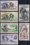 (1957) č. 932 - 937 ** - Československo - Sport