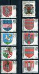 (1968) č. 1709 - 1718 ** - Československo - Znaky československých měst