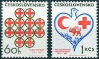 (1969) č. 1741 - 1742 ** - Československo - Červený kříž