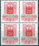 (1995) č. 89 ** - Česká republika - 4-bl - Historické stavební slohy