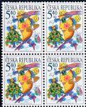 (2001) č. 312 ** - Česká republika - 4-bl - Vánoce