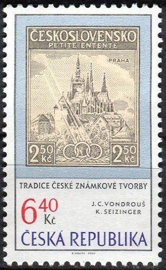 (2003) č. 347 ** - Česká republika - Tradice české známkové tvorby