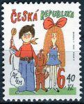 (2003) č. 358 ** -  6,40 Kč - Česká republika - Dětem: Mach a Šebestová
