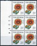 (2007) č. 537 ** - Česká republika - 6-bl - Krása květů - Kokarda