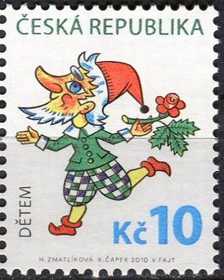 Česká pošta (2010) č. 633 ** - ČR - Dětem