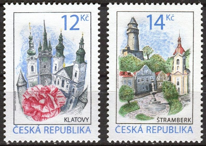 (2010) č. 637-638 ** - ČR - Krásy naší vlasti
