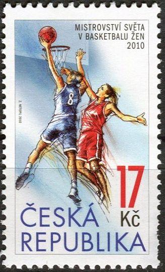 (2010) č. 649 ** - ČR -  MS v basketbalu žen