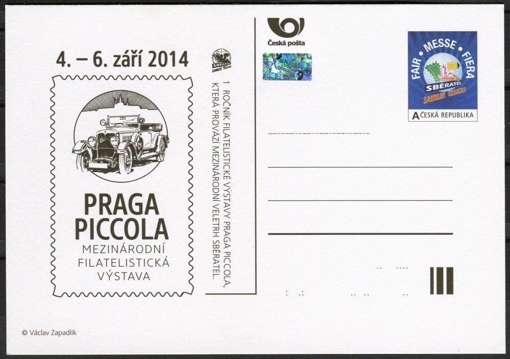 Česká pošta (2014) CDV 166 ** - Praga Piccola