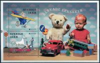 Zobrazit detail - (2015) MiNr. 3035 - 3036 ** - Švédsko - BLOCK 51 - Europa - Historické hračky