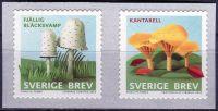 (2015) MiNr. 3062 - 3063 ** - Švédsko - Houby