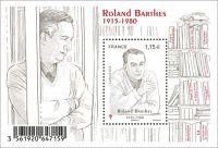 (2015) MiNr. 6314 ** - Francie - BLOCK 316 - 100. narozeniny Roland Barthes