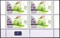(2016) č. 884 ** - Česká republika - 4-bl - EUROPA - Myslíme zeleně