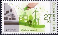 (2016) č. 884 ** - Česká republika - EUROPA - Myslíme zeleně