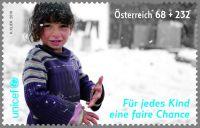 (2016) MiNr. 3249 ** - Rakousko - UNICEF - pro každé dítě spravedlivou šanci