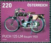 (2016) MiNr. 3258 ** - Rakousko - Motocykly (VIII)