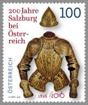 (2016) MiNr. 3266 ** - Rakousko - 200 let Salzburg v Rakousku