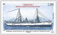 "(2016) MiNr. 924 ** - Francouzská Antarktida - Výzkumné plavidlo ""Valdivia"""